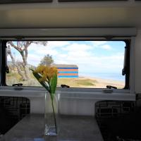 Great views from inside your caravan!