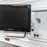 External TV Hatch